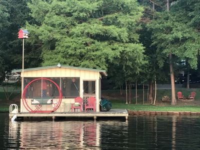 Photo for Vintage Fish Camp Cabin Sleeps 4 FREE kayak, canoe & bike use! BOOKING FOR FALL!