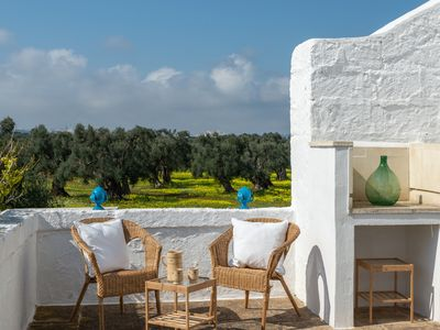 Photo for Air Terrace in Masseria with pool