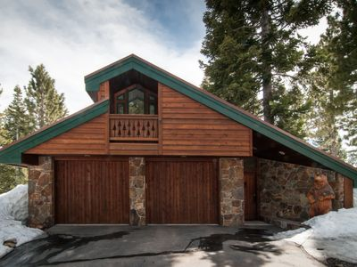 Photo for LUX Alpine Meadows 1/4 mile to Sherwood lift, hot tub, pets ok, family room