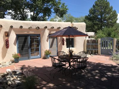 Photo for La Posada de Taos, secluded adobe in Historic District, 2 block stroll to Plaza