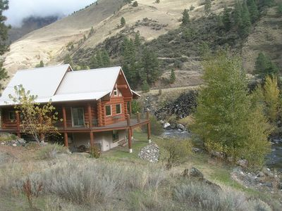 Photo for Log Cabin On Little Salmon, Fishing, Hiking, Atv Trails, 50 Minutes To Skiing