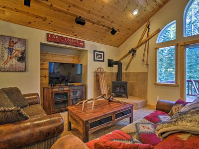 Photo for Custom Tahoe Cabin 5 Minutes From Homewood Resort!