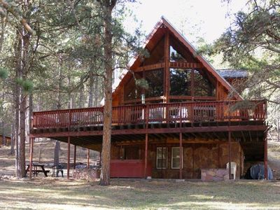 Meadow Inn Secluded Cabin  Beautiful Lake Pactola 3 miles! Hot Tub and Fire Pit!