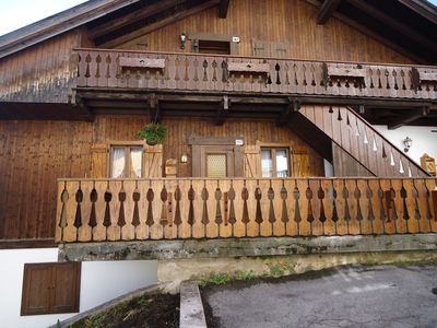 Photo for A charming mountain apartment, sunny, in a quiet area.