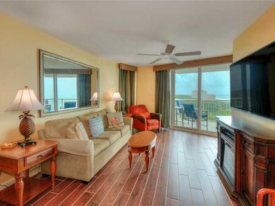 Photo for RECENTLY UPDATED! Ocean view condo with a host of lavish amenities and all the comforts of home!