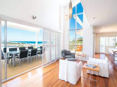 Photo for The White House - Central Coolum with Ocean Views, WiFi and Foxtel