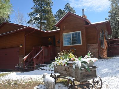Photo for Sunflower Retreat w/Views Of Pikes Peak - Great For Large Families - Sleeps 10