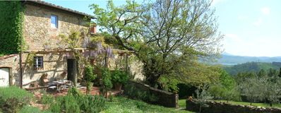 Photo for Tuscan Farmhouse, beautifully restored with garden, close to Florence.