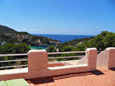 Photo for Dream house with a pool at the Cala Vadella - Ibiza