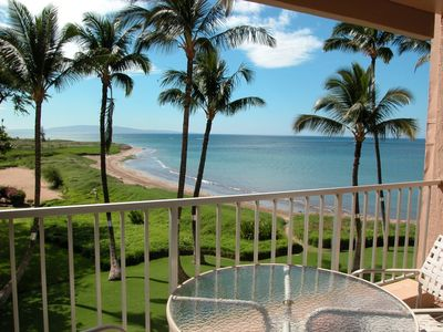 Direct Oceanfront View from Condo's Lanai