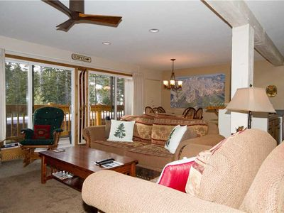 Photo for Mammoth Ski & Racquet Club #082; 2 Bedroom 2 Full bathrooms, Fully Furnished Condo, with Views!
