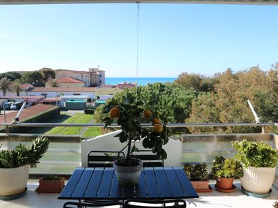 Photo for Seafront apartment in Marina di Cecina