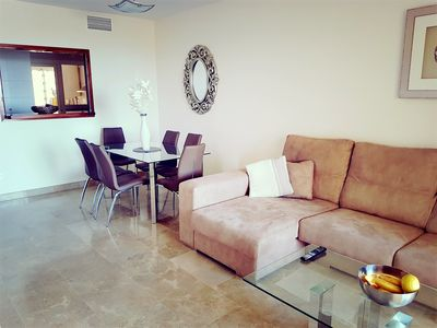 Photo for Luxury apartment with shared pool, FREE WIFI  100MB
