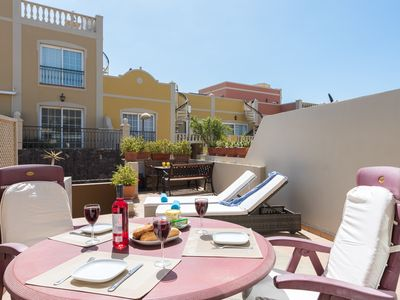 Photo for 16A FABULOUS EL FARO, Huge Sun Terrace!