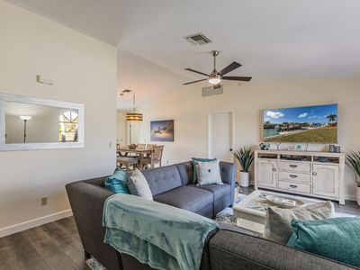 Photo for Remodeled water front getaway in the heart of Old Marco