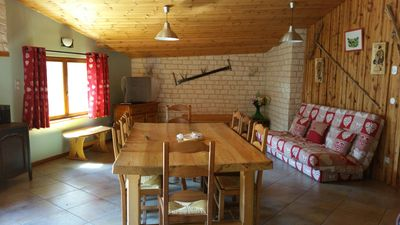 Photo for Village house of 110m² renovated - Besse en Oisans