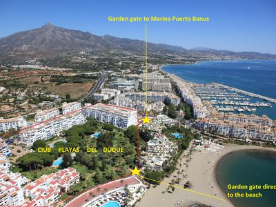 Photo for Ideal Family complex, Beach Front3 , Marina Puerto Banus,3 pools,Free Wifi/Park