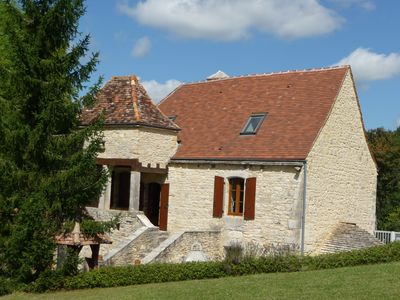 Photo for Cottage for 10-14 people at the gates of Périgord Noir, with pool, calm