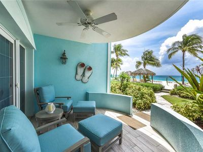 Photo for Contemporary condo on Seven Mile Beach | Beachfront Condo #25