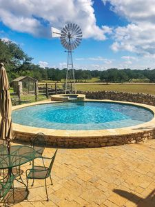Photo for Poco Loco Ranch on the Guadalupe River-Tubing, Game Room, Pool/HotTub, Sleeps 14