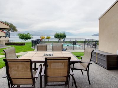 Photo for Modern and stylish condo w/ shared hot tub, pool & lakefront access!