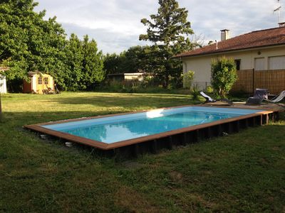 Photo for Bright villa with pool on the outskirts of Toulouse