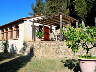 Photo for One bedroom Villa, sleeps 4 in San Casciano dei Bagni with Pool, Air Con and WiFi