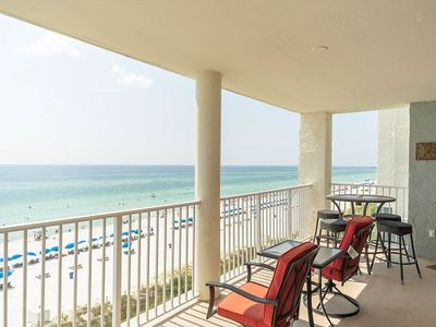 Photo for 2 Bedroom 2 Bath Gulf Front Condo all Rooms with a View