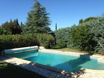 Photo for Charming villa with pool 3 km from Uzès