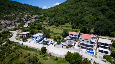 Photo for Very quiet place with beautiful views of Budva bay.  Surrounded by mountains and vegetation