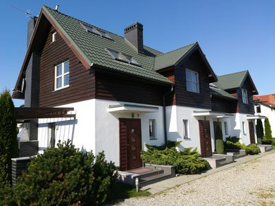 Photo for Comfortable apartments 200m from the sandy beach. Quiet area Baltic Sea