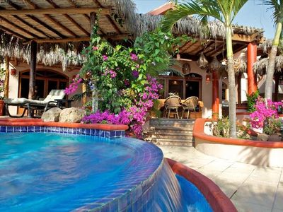 Photo for Luxurious, Private Beachfront Residence at Playa Las Tortugas