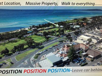 Photo for MASSIVE HOUSE-30metres Beach/ Shops/ Pubs etc, LEAVE CAR BEHIND