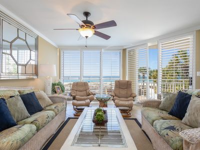 Photo for SeaSpray Perdido Key Unit No.206 ~ 3 Bed/3Bath Gulf Front with wrap around balcony!