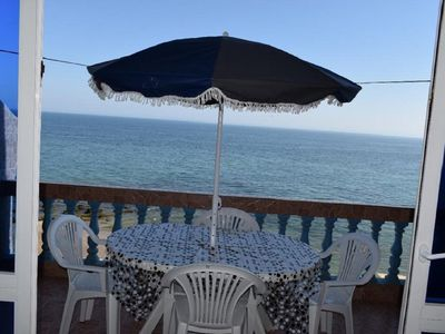 Photo for APARTMENT 12 DEREKT ON THE BEACH TAGHAZOUT