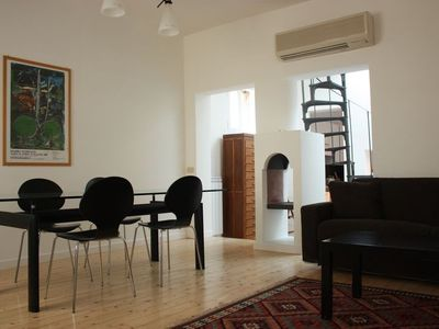 Photo for Apartment in the center of Rome with Internet, Air conditioning, Terrace, Washing machine (9803)