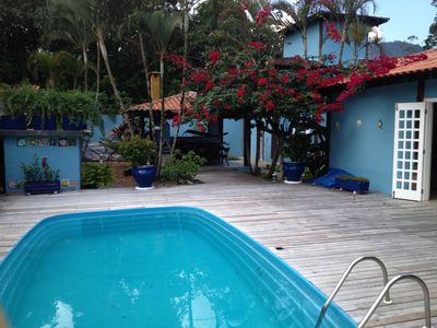 Photo for Casa Camburi for 12 people with Swimming pool, air conditioning, Wifi, TV, Barbecue