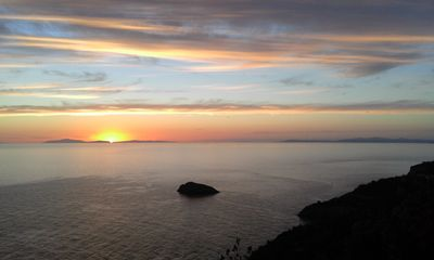 Photo for Breathtaking scenario of the Islands of Giglio, Montecristo, Corsica and Elba.