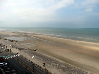 Photo for Beachfront Hardelot-Superb apt 2 ch-66m2-Neat decoration-Exceptional view