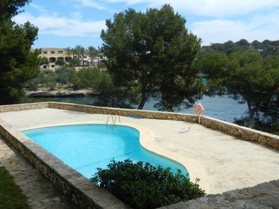Photo for Spacious Apartment/Communal Pool, Cala Ferrera (Apartamento Turistico AMP857)
