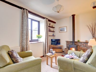 Photo for The Barn is one of five self-catering cottages found in the beautiful and idyllic countryside near M