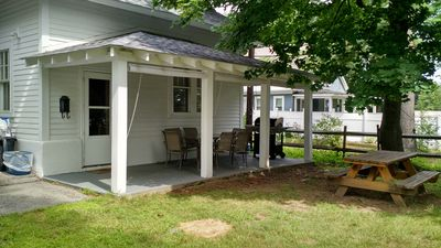 Photo for Comfortable Boardwalk Cottage Within Walking Distance of Lake, Beach and Village