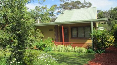 Photo for Blue Gum House has spa, slow combustion fire place, dishwasher, BBQ, internet.