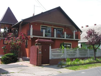 Photo for Holiday apartment with large garden, summer kitchen, barbecue and internet