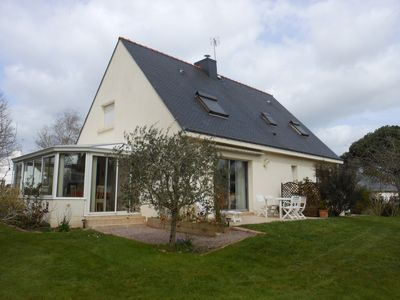 Photo for Traditional house halfway to the Gulf of Morbihan and the beaches of the ocean