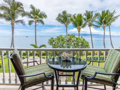 Photo for Time for a Maui Getaway?  Direct Ocean Front Beach Hideaway in Lahaina