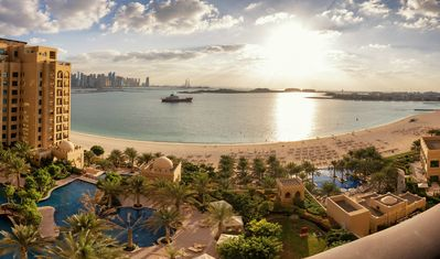 Photo for 2BD plus maids Full Sea View  in Palm Jumeirah! Fairmont Resort !