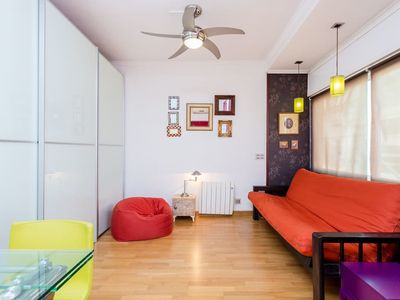 Photo for Colourful flat in the center of Gràcia