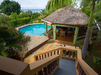 Photo for Private Villa on the Beach in Black River, Jamaica