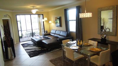 Photo for GOLF INCLUDED! Stunningly Decorated Condo! LARGE END UNIT!